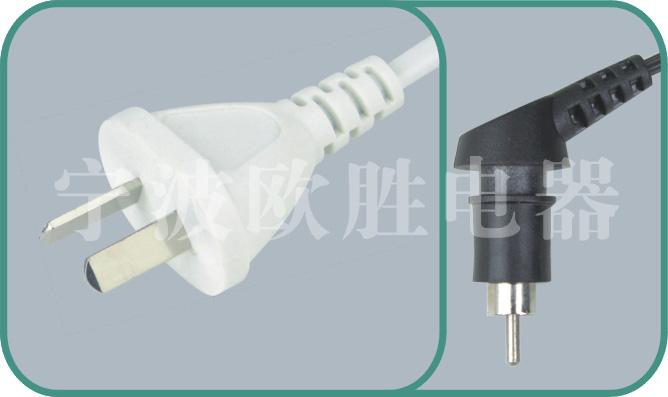 Argentina IRAM power cords,Y009A/XX104 10A/250V,Argentina plug,argentina power cord