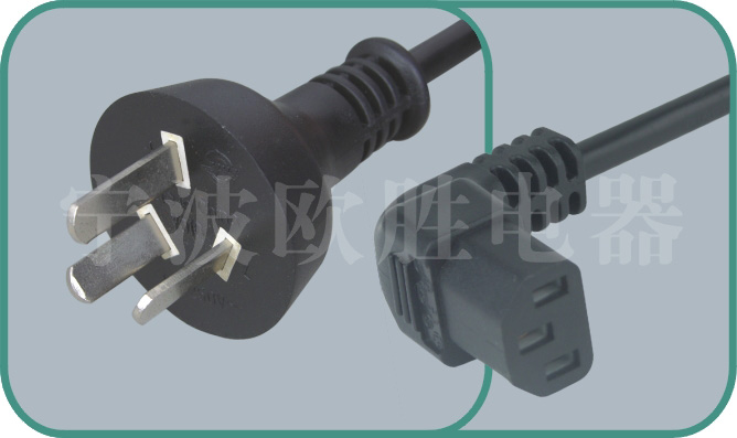 Argentina IRAM power cords,Y010/ST3A 10A/250V,Argentina plug,argentina power cord