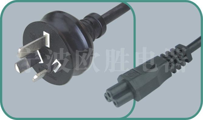 Australian SAA power cords,OS06A/ST1 10A/250V,saa cord,australian plug