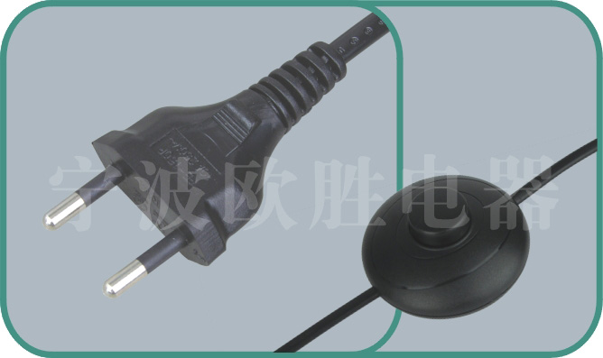 Brazilian INMETRO power cord,YHB-1/SWITCH2 2.5A/250V