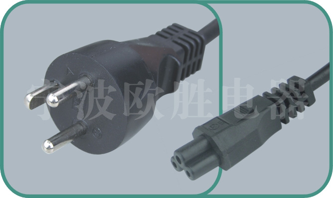 Denmark power cord,Y011/ST1 16A/250V