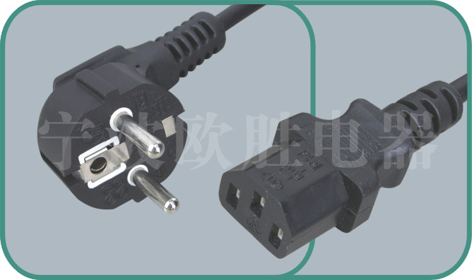 VDE power cord,vde cord,vde plug