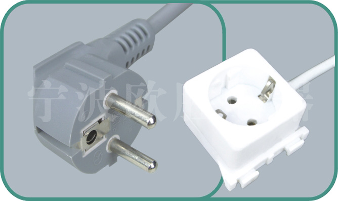 Europe VDE power cords,S03/YJ-Y003Z 16A/250V,VDE power cord,vde cord,vde plug