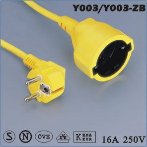 ac extension cord,extension cable cord,extension power cord
