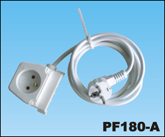 Extension cord,PF180-A Extension SOCKET,ac extension cord,extension cable cord,extension power cord