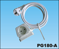 Extension cord,PG180-A Extension SOCKET,ac extension cord,extension cable cord,extension power cord