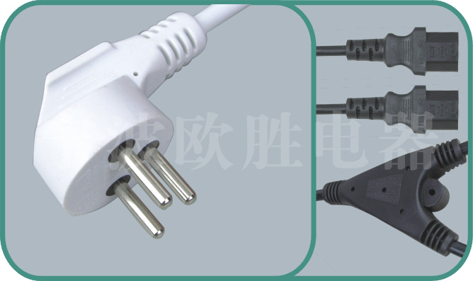 israel power cord,israel adapter plug