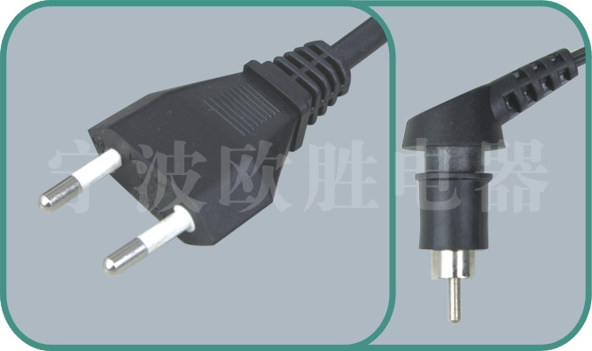 Italy IMQ power cords,OS10/XX104 10A/250V,israel power cord,israel adapter plug