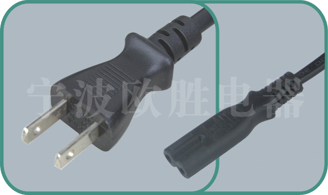 japanese power cord,japan power plug