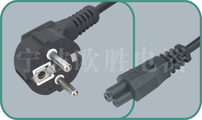 Korean KSC power cords,S03/ST1 10A/250V,korean cord,korean power cord