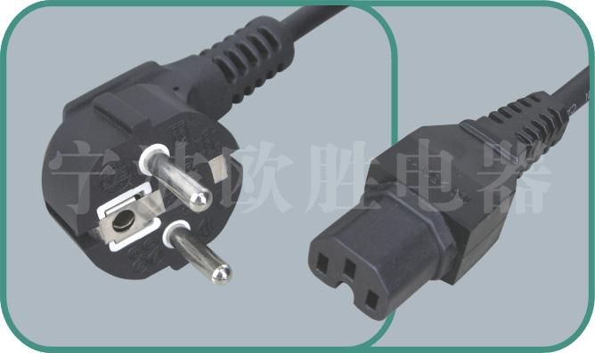Korean KSC power cords,S03/ST3-H 10A/250V,korean cord,korean power cord