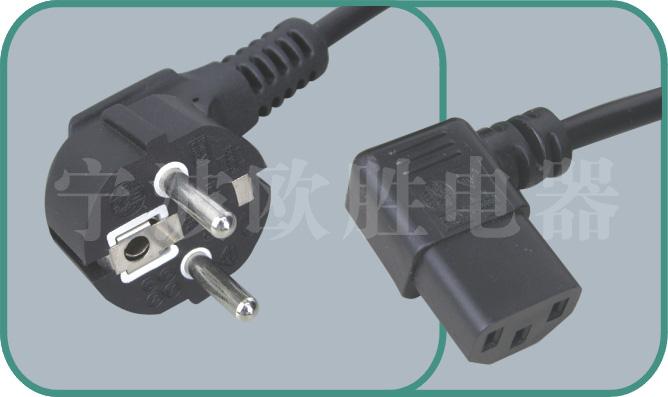 Korean KSC power cords,S03/ST3-W 10A/250V,korean cord,korean power cord