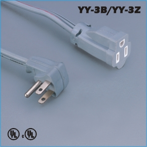 Power connections,America Canada Extension cord YY-3B YY-3Z