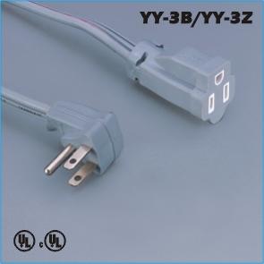 Power connections,America Canada Extension cord YY-3B YY-3Z,saa cord,australian plug