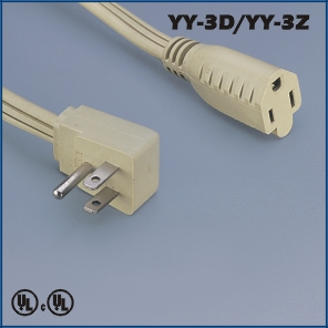 Power connections,America Canada Extension cord YY-3D YY-3Z