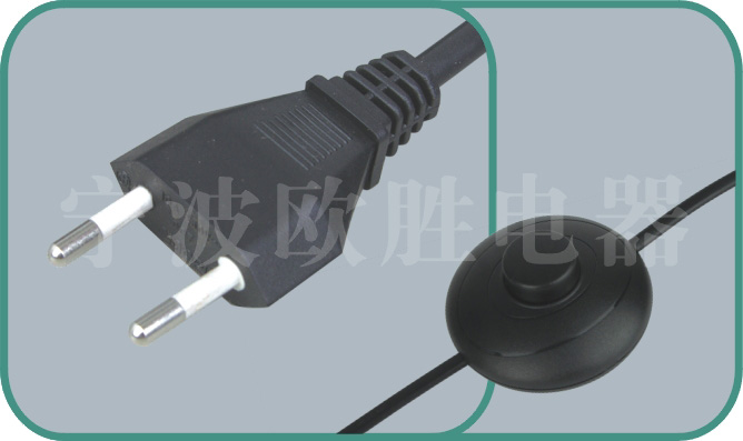 inline power cord switch,power switch cord