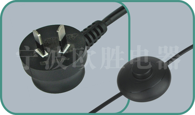 Power cord with switch,JY16/SWITCH1 10A/250V,inline power cord switch,power switch cord